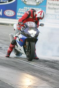 Gonna go far! Gonna be a big star! Gonna jump far on my GSX-R!