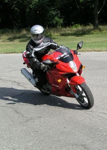 The GT handles very well for a budget motorcycle, too.