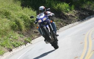 If the FZ-1 can lift Sean off the ground, you can bet the power output is better than adequate.