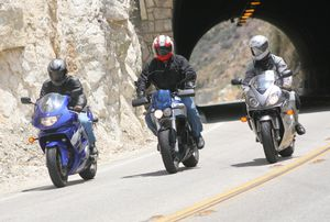 The B Team Value Supersport Shootout 2005 Motorcycle Com