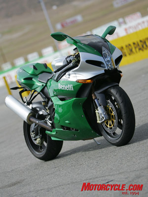 The Tornado takes some styling cues from other sportbikes, yet manages a style all its own.