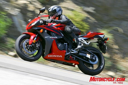 The '08 CBR600RR returns to the supersport fray unchanged from last year and undaunted by the task of taking on updated models from Suzuki and Yamaha.