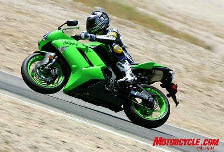 The ZX-6R�s transmission and clutch were rated highest for their performance on the track as well as on the street. Both worked flawlessly.
