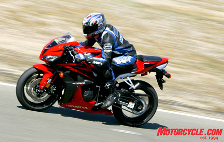 The 2008 CBR600RR makes it across the finish line with little room to spare to win this year�s Motorcycle.com Supersport Shootout.