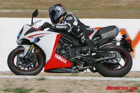 We voted the R1 top spot in this category thanks to its excellent clutch/transmission combo.