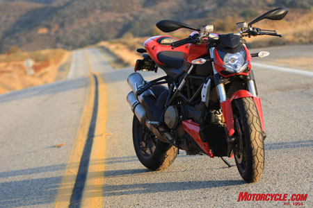Last bike standing. The Streetfighter is one of the many reasons Ducati, as a company, has left its Italian competitors behind. The Streetfighter symbolizes this with its near decimation of the production naked bike market.