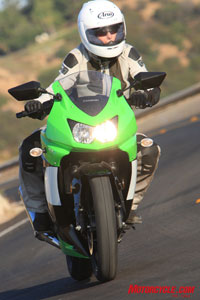 The Ninja 250R is and probably will be for some time to come, a great handling bike, regardless of its budget-conscious market position.