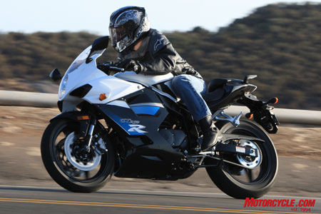Good luck finding a small sportbike that looks as attractive as the GT250R, and provides EFI, all for around $4K.