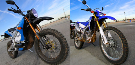 Dual-Sport Shootout: Electric vs. Gasoline!