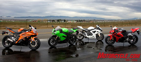 A storm's a brewin' in the Supersport class this year.