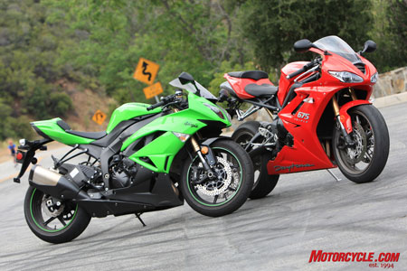 Like a junkyard dog defending its food bowl, the ZX-6R fends off one final attack on its Motorcycle.com 2009 Supersport Shootout champ title.