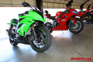 Two out-of-the-box race-ready motorcycles!
