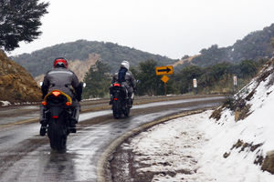 These are Californians riding in the snow.