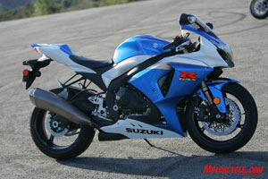Suzuki brings an all-new Gixxer Thou to the liter game this year.