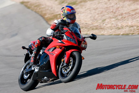 Kool kat Kaming lauded the CBR for its light weight and stellar agility.