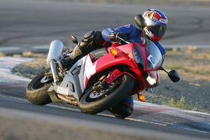 The R6 is all the track bike I could ever possibly need, at least until I ride a 2006. -Gabe