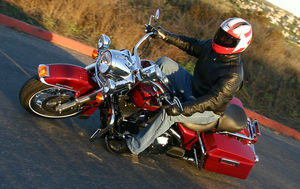 You actually get a twofer in this test: a Road King and a Fat Boy ®.