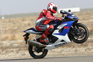 Sean does this a lot. A GSX-R1000 does this a lot, too. A match made in heaven?