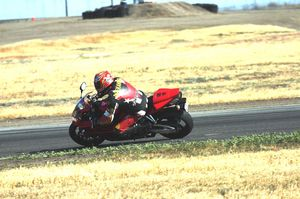 I'd bet my next two paychecks, that the average street rider would be faster at a track day on the big CBR, than on any other bike in this class.