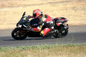 The RSV is an easy bike to go fast on.
