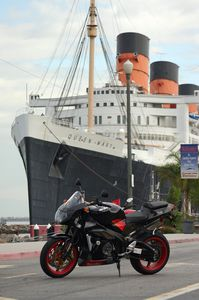 Shortly after this photo was snapped, the Tuono towed the Queen Mary clean off it's concrete bed.