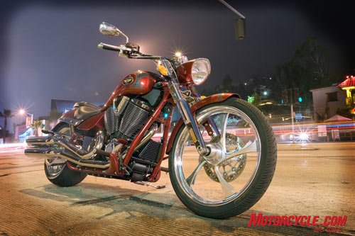 2008 Victory Vegas Jackpot is boulevard cruising material for sure!
