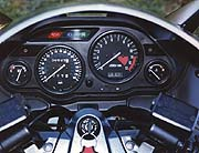 Instrumentation is simple yet attractive and includes such niceties as a fuel gauge and clock.