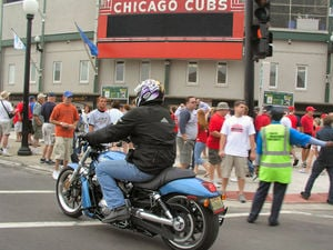Longride catches a Cubs game
