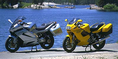 can take the Kawi to the track and rail, should you decide to. The VFR can do track days, but you'll be circulating at a reduced pace