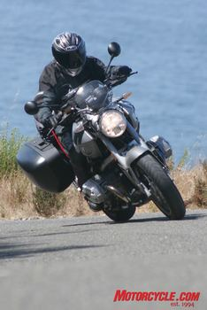 Kevin was really pleased with the R1200R, especially its great engine and chassis combo.