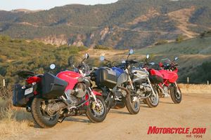 A line-up sweet enough to make you quit your day job and become a motojournarlist.