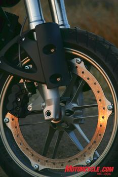 Perimeter mounted ZTL brake system on the Buell only adds to its uniqueness among most bikes on the market today.