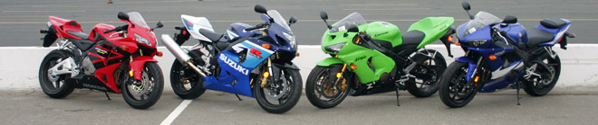 2005 Middleweight Supersport Shootout - Motorcycle.com