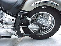 V-Star Shaft and Swingarm