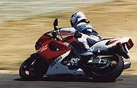 All of our testers loved the Yamaha's racetrack manners - that is when they could pry Editor Plummer from the seat.