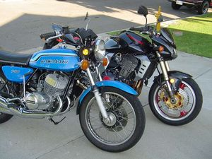 The next MO shootout? '72 H2 v. the '03 Z1000?