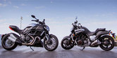 2012 Ducati Diavel Cromo vs Star VMAX - Video