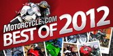 Best Motorcycles of 2012
