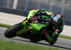 The fate of John Hopkins and the rest of the Kawasaki race team is still to be decided.