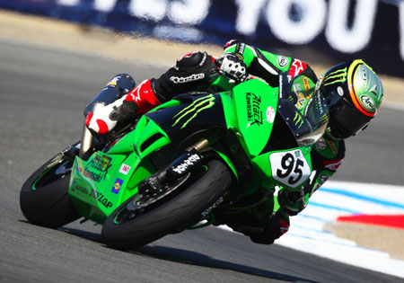 Roger Lee Hayden is heading to the WSBK Championship with Pedercini Kawasaki.
