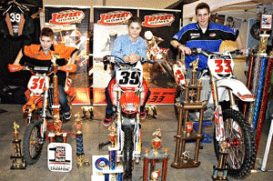 The 2009 Supershow featured racers such as the MX Stars of Tomorrow.