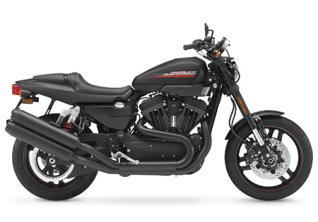 The 2010 XR1200X, a blacked-out version of the XR1200, isn't available in the States, but it will be available for Indian customers.