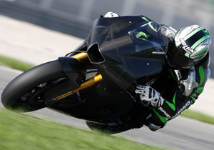 Kawasaki signed Marco Melandri in September but the Italian may not have the chance to race the Ninja ZX-RR.