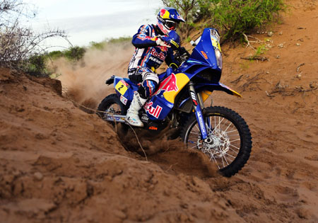 Cyril Despres KTM Dakar 2011