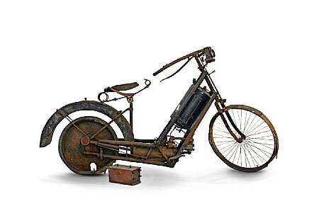 The 1895 Hildebrand & Wolfmuller is the earliest motorcycle to enter series production.