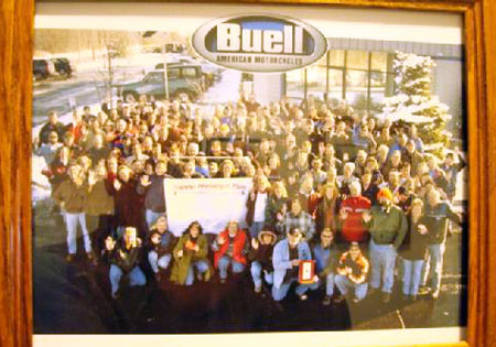 Liquid Asset Partners' gallery of liquidation sale items includes this picture of Buell workers in happier times.
