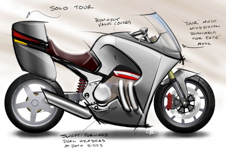 A conceptual sketch of the Motus MST-01.