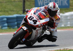 Michel Fabrizio recorded the top times at the December WSBK tests in Kyalami, South Africa.