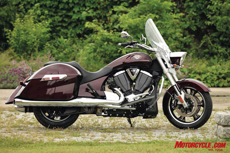 Strong demand for models such as the 2010 Victory Cross Roads produced positive results.