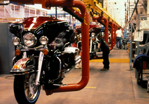 Harley-Davidson production will continue at its York, Pa., plant.